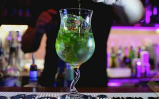 2 рецепта коктейля «Зеленая фея»: состав и приготовление дома