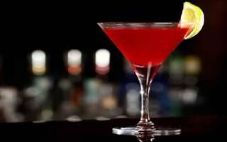 Рецепт классического коктейля Космополитен, разновидности напитка, состав