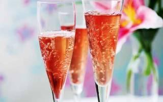 Коктейль Кир Рояль – рецепт коктейля из шампанского и ликера – состав и самостоятельное приготовление