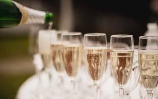 Какой срок годности у шампанского