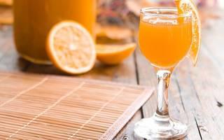 Простой рецепт настойки самогона на апельсине