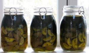Лечение настойкой из зеленого грецкого ореха на водке