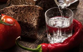 Как правильно пить водку, чтобы не тошнило