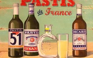 Французская анисовая настойка Пастис: история, бренды и виды