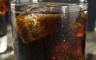 Рецепты коктейля из коньяка и колы