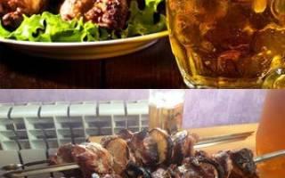 Маринад для шашлыка на пиве: 3 рецепта, советы по приготовлению